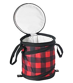 Reward Lodge Men's Plaid Collapsible Cooler