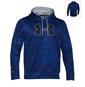 a206ad0e9 ... Large UPC 888376585945 product image for Under Armour® Men's Big Logo  Patterned Hoodie | upcitemdb.