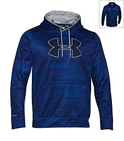 Under Armour® Men's Big Logo Patterned Hoodie