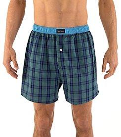 Tommy Hilfiger® Men's Plaid Woven Boxer