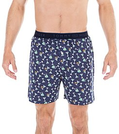 Tommy Hilfiger® Men's Martini Print Knit Boxer