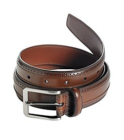 Perry Ellis® Men's Wing Tip Dress Belt