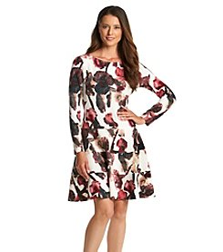 Ivanka Trump® Floral Knit Dress
