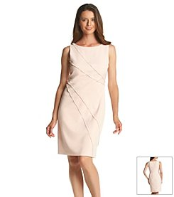 Ivanka Trump® Stretch Fringe Trim Dress