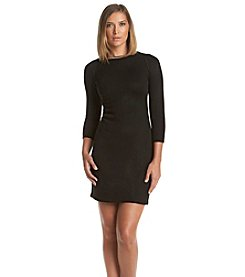 Calvin Klein Jeweled Sweater Dress