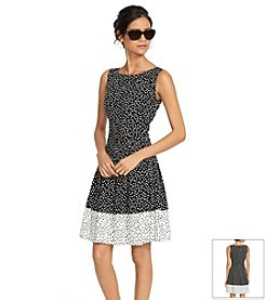 Lauren Ralph Lauren® Sleeveless Polka-Dot Dress