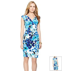 Lauren Ralph Lauren® Floral Jersey Empire Dress