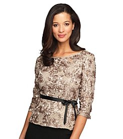 Alex Evenings® Rosette Top