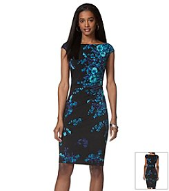 Chaps® Floral Print Dress