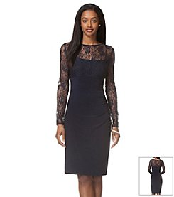 Chaps® Lace Day Dress