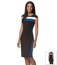 Chaps® Stripe Day Dress