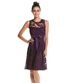 R&M Richards® Petites' Lace Party Dress