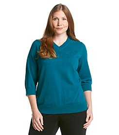 Studio Works® Plus Size Heat Set Sweater