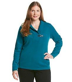 Studio Works® Plus Size Shawl Collar Sweater
