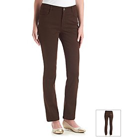 Laura Ashley® Straight Leg Twill Denim