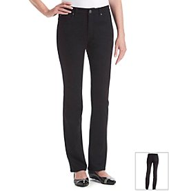 Laura Ashley® Curvy Straight Leg Denim