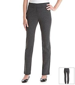 Laura Ashley® Heathered Ponte Pants