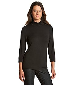 Chelsea & Theodore® Scrunch Neck Top