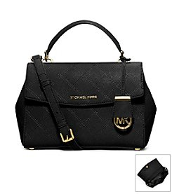 MICHAEL Michael Kors® Ava Medium Stitch Quilt Saffiano Leather Satchel
