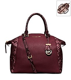 MICHAEL Michael Kors® Riley Large Pebbled-Leather Satchel