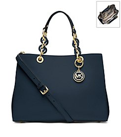 MICHAEL Michael Kors® Cynthia Medium Leather Satchel