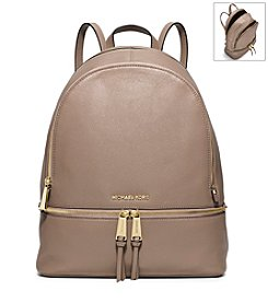 MICHAEL Michael Kors® Rhea Zip Large Leather Backpack