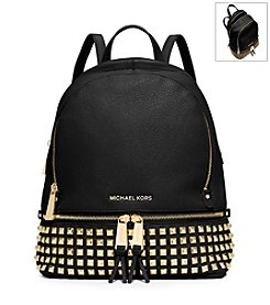 MICHAEL Michael Kors® Rhea Zip Small Studded Leather Back Pack