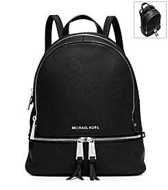 MICHAEL Michael Kors® Rhea Zip Small Leather Backpack