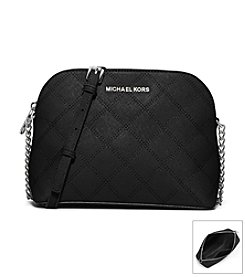 MICHAEL Michael Kors® Cindy Large Stitch Quilt Saffiano Leather Crossbody