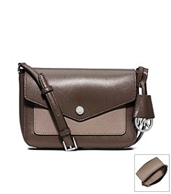 MICHAEL Michael Kors® Greenwich Small Saffiano Leather Crossbody