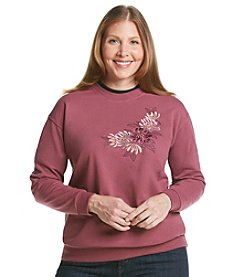 Morning Sun® Plus Size Fall Mumms Sweatshirt