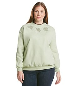 Morning Sun® Plus Size Leaf Collection Sweatshirt