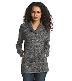 Relativity® Shawl Collar Sweater Tunic