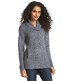 Relativity® Shawl Collar Sweater Tunic