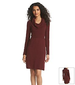Relativity® Cowl Neck Sweater Dress