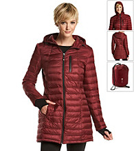 Halifax Hooded Packable Down Jacket