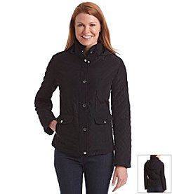 Breckenridge® Solid Short Quilted Coat