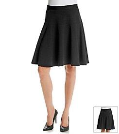 Calvin Klein Ponte Flip Skirt