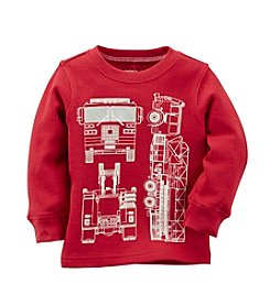 Carter's® Boys' 4-7 Firetruck Thermal Tee