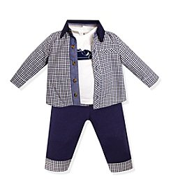 Wendy Bellissimo® Baby Boys' 3-12 Month 3-Piece Roadster Set