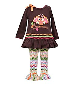 Bonnie Jean® Baby Girls' Turkey Leggings Set