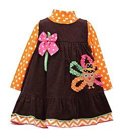 Bonnie Jean® Baby Girls' 3-24 Month Turkey Jumper