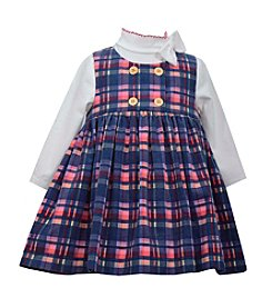 Bonnie Jean® Baby Girls' 3-24 Month Plaid Jumper Dress