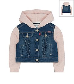 Levi's® Baby Girls' Jacket With Hoodie