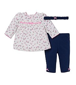 Little Me® Baby Girls' Sweet Vine Tunic Set