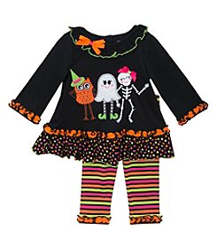 Rare Editions® Baby Girls' Spooky Friends Leggings Set