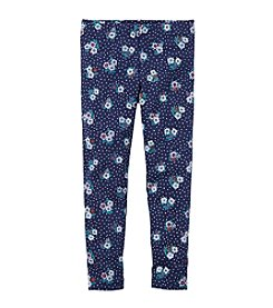 Carter's® Girls' 4-6X Floral Dot Leggings