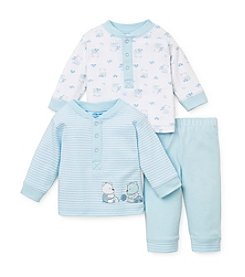 Little Me® Baby Boys' 3-Piece Teddybear Pants Set