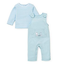Little Me® Baby Boys' Teddybear Pals Overall Set
