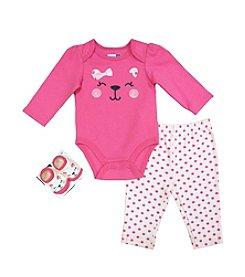 Vitamins Baby® Baby Girls' 3-Piece Happy Kitty Set